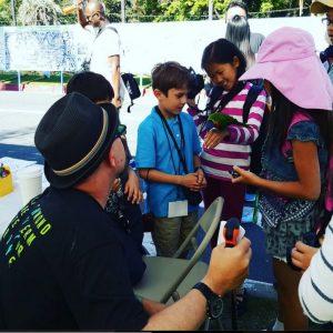 San Diego at an #EarthDay fair